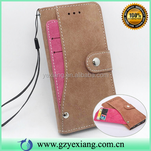 Retro Design Wallet Credit Card Pouch Leather Case For Nokia XL Flip Cover