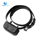 material of silicone dog collar inserting battery waterproof electric shock pads with electric shock stick