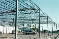 prefab car showroom structure warehouse