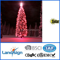 Cixi Landsign solar string lights series 4.5m 30 leds christmas light set for holiday/garden/party decorations
