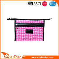 travel portable branded cosmetic lady bags makeup cases promotional