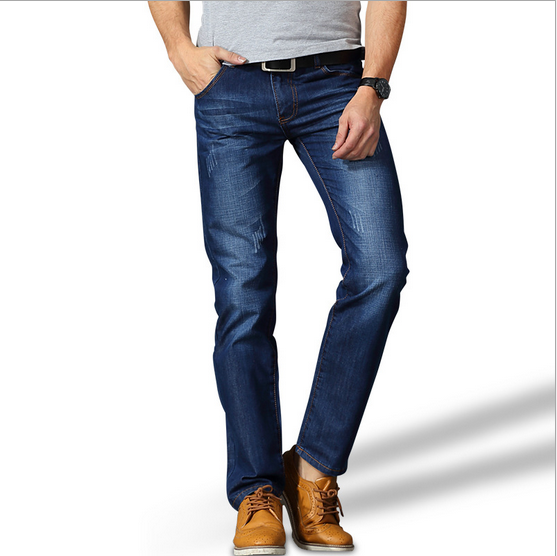 2016 New Model Jeans Pants Trousers For Men With 2 Pockets Leather Lable - Buy Jeans Trousers ...