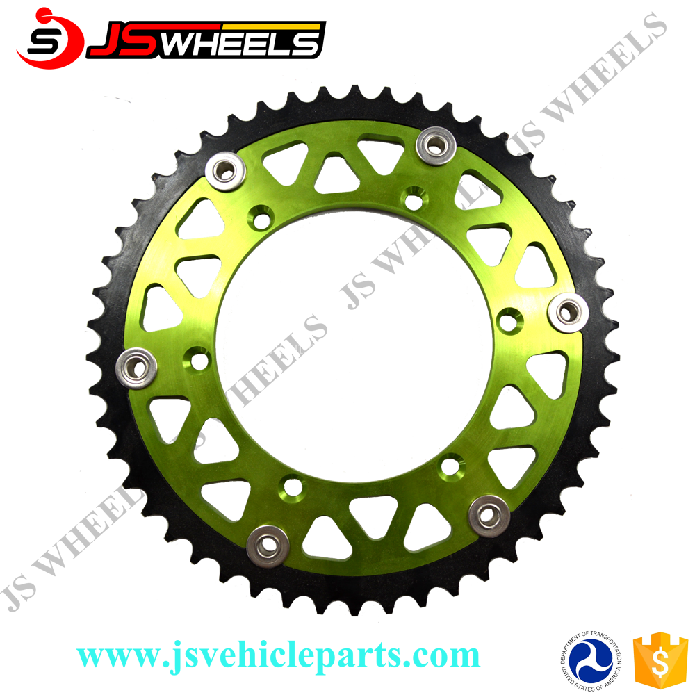 Motorcycle Kawasaki KX 250F Transmission Parts 48-52T Rear Sprockets