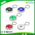 Winho customed LED circle keychain