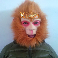 X-MERRY The monkey king overhead mask well-known characters from Journey to the West Latex good quality Halloween cosplay Mask
