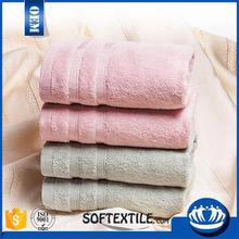 Softextile high quality organic bamboo bath face towel sets bamboo towel