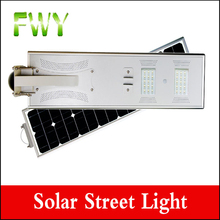 Hot sale outdoor solar power led street light lamp with lifepo4 lithium battery