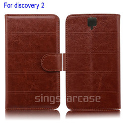 wholesale phone case leather case For DOOGEE Discovery 2 DG500