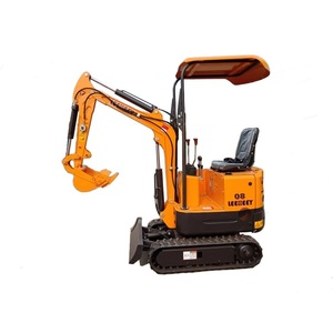 Shandong LEEHEEY Brand Mini Crawler Bucket Hydraulic Excavator For Sale