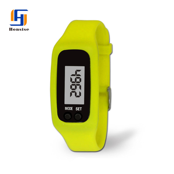 China Wholesale Cheap Silicone Digital Fitness Tracker