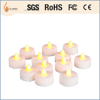 submersible changeable color led tealight