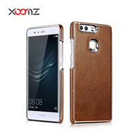 XOOMZ Genuine Leather Back Phone Case for huawei p9