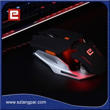 The Most Popular Gaming Proudcts White Wired Mouse For Internet Bar