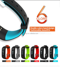 OLED display Calorie burning monitor wristband smart watch