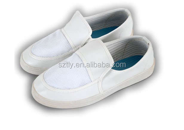 ESD Mesh Cleanroom Safety Shoes Manufacturer