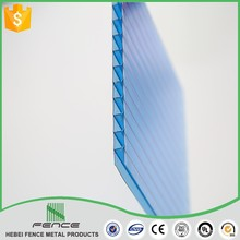 4mm 5mm 6mm 8mm ge lexan cheap transparent hollow polycarbonate sheet