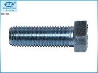 DIN 933 full threaded hex bolt