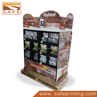 pallet instant noodles display for supermarket