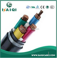 low voltage 0.6/1kV PVC insulated single core or muti-core copper or aluminum electrical cable