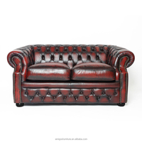 Classic design Vintage Leather chesterfield Sofa
