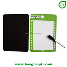 Magnetic message board with eraser marks pen/ cheap wholesale fridge magnet writing board for refrigerator