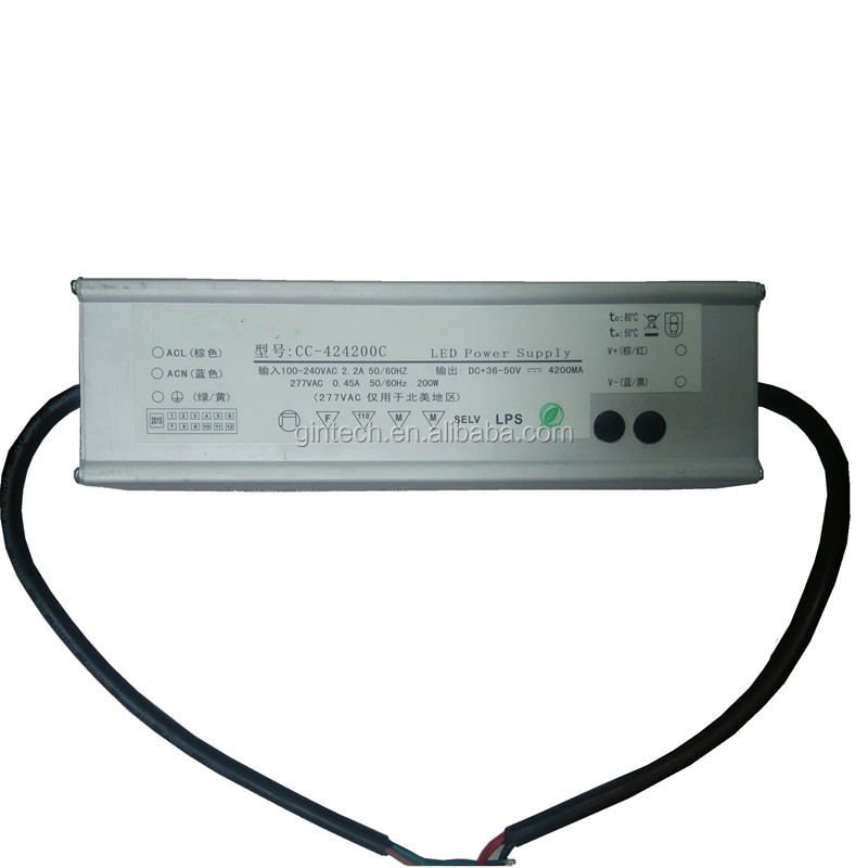 constant current waterproof dimmable led driver 150w with CE/SAA/CCC/TUV