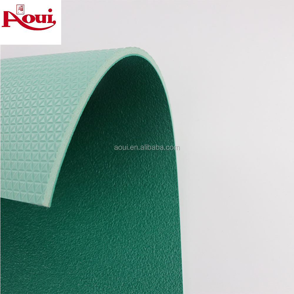 AOUI Safety TPU+PVC material indoor badminton sports flooring