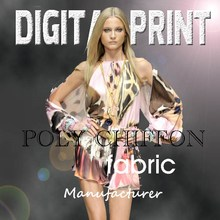 Amazing digital printed chiffon fabric, Bright vivid colors, Focus on the high-end market -Z06