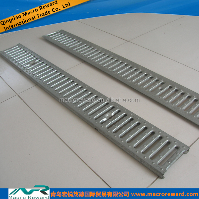 ASTM Q235 304 316 Stainless Steel Grating for Trench Grating Systems