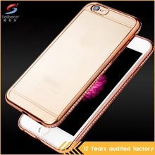 Heavy Duty Shockproof Luxury Diamond Tpu Back Cover Case For Iphone