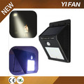 Wireless LED motion sensor light solar energy saving light
