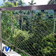 Flexible Stainless Steel Wire Cable Mesh/Rope Mesh for gargen fence