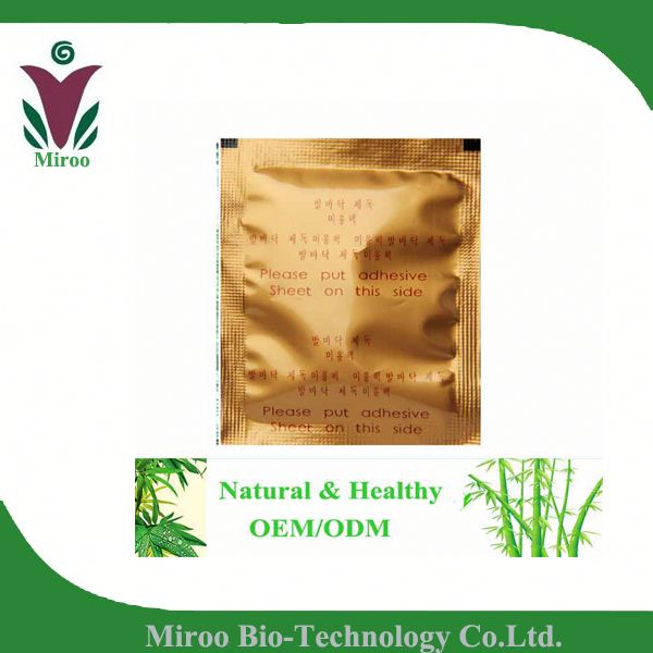 Chinese medicine patch! Jungong Ginseng Cleanse Foot Patch, Ginseng Detox Foot Patch with Adhesive/CE certificate (Herb Ginseng)