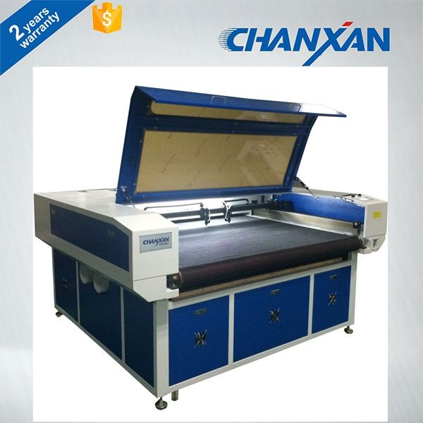 CHANXAN leather sofa auto feeding Roll fabric laser cutting machine/Home Textile
