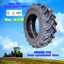 High quality rubber bias tire 16.9x30 Tractor tyre 15 rim tire factory for 20 years