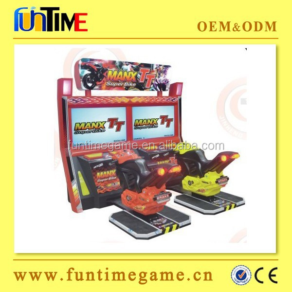 Funtime 42'' LCD TT motor bike simulator racing arcade game machine / motorcycle racing arcade game
