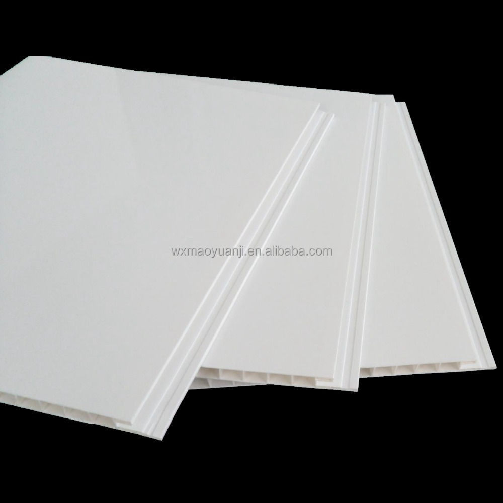 American Market Most Popular Interlocking Fireproof White PVC Ceiling Panel for House Decor