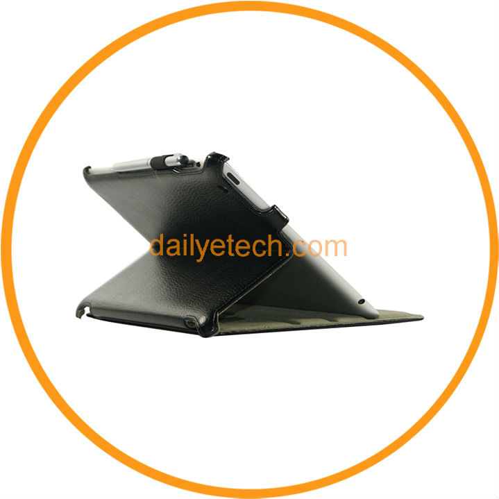 2013 New Magnetic Leather Cover Case for iPad Mini from Dailyetech