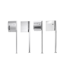 High Quality Modern Stainless Steel Mailbox With Stands For Sale