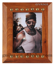 fashion pictures frame magic brown phote frame soft picture frame for promotion gift