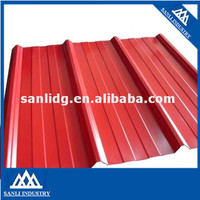 prepainted / PPGI galvanized Steel roofing sheet factory produce corrugated galvanized zinc roof sheets