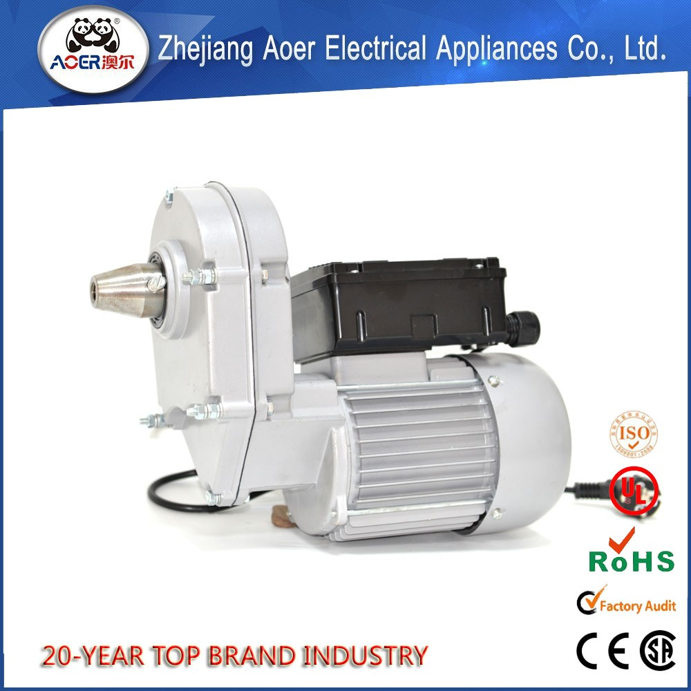 Ac wiring reversible electric gear motor for concrete Reversible ac motor