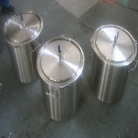 stainless steel wine keg with valve