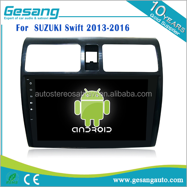 2 din capacitive touch screen Car gps navigation dvd player for SUZUKI Swift with Bluetooth 3G WIFI DVR auto dim rearview mirror