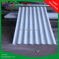 High strength anti corrosion insulation long life service of different types of concrete roof tiles