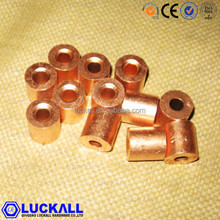 copper tube button stops Ferrule