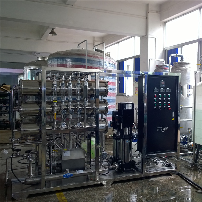 PLC HMI touch screen control ro saltwater treatment machine