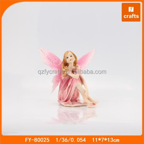 Cheap resin fairy ornaments fairy tale figurines
