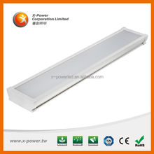 vapor proof 2 foot high frequency led industrial light for food processing