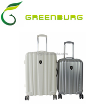 3pcs set hard shell luggage, stock abs trolley suitcase
